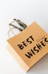 Festliche papiertüten online-Erntedankgeschenkbeutel Festliche Geschäftskleidungbeutel Parteipapier bag35 * 30 * 12.5cm