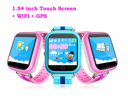 smart watch iphone wifi Coupons - Q100 Q750 Bluetooth child Smartwatch with WiFi GPS AGPS LBS BDS for iPhone IOS Android Smart Phone Wear Clock Wearable Device Smart Watch