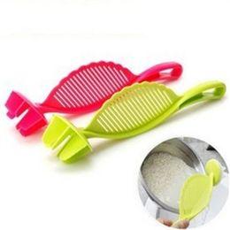 2019 инструменты прямые Практичный стрейнер для риса Быстрое чистку кухонных инструментов Пластиковый гаджет для мытья посуды прямо на продажу 1 3mh VB скидка инструменты прямые