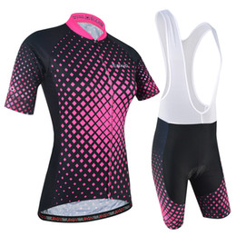 Wholesale bicycle side - 2018 BXIO Brand Cycling Jersey Women Two Side Pineapple Breathable Mesh Bike Clothing Summer Bicycle Clothing Mujeres Ropa Ciclismo BX-177