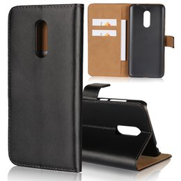 Wholesale wallet book leather case cover - Wallet Case Genuine Leather For Xiaomi Redmi 5 Plus Redmi 5 6X Note 5A 4X 5X 6 Real Pouch ID Credit Card Slot Book Holder Coque Flip Cover