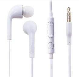 Canada Convient pour Samsung note6 N7100 i9300 i9600 S9 S7 S6 microphone et contrôle du volume stéréo écouteurs intra-auriculaires écouteurs oreillette Multicouleur cheap multicolor headset Offre
