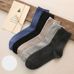 Wholesale Medium Gym Bags - Socks men's autumn and winter money new medium socks all cotton hot sell clear mixed bag manufacturer direct socks