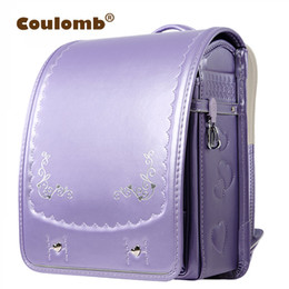 0fb45a417ef9 Coulomb Princess Embroidery Backpack For Children High Quality Waterproof  School Bag Orthopedic Japanese PU Book Bags 2017 New Y18100805