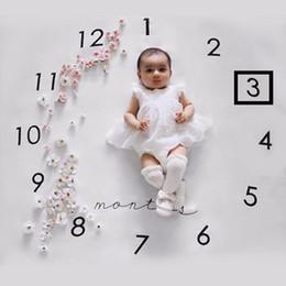 Babydecke stoffe online-Neugeborenes Baby Fotografie Hintergrund Requisiten Baby Foto Stoff Kulissen Säuglingsdecke Baby Foto Fotografie kreative Decke