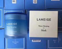 2019 masque noir d'aspiration Vente chaude soin spécial eau sommeil masque 70 ml hydratant nuit masque de soins de la peau pour tous les types de peau masque coréen