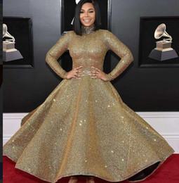 Wholesale kim kardashian ball gowns - Evening dress Yousef aljasmi Kim kardashian Draped Cap sleeve Beaded Ball gown High collar Almoda gianninaazar ZuhLair murad Ziadnakad