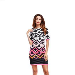 e6cfa24bac9fe Casual Ice Silk mini boho Dress Print Loose Plus Size Women Clothing Robe  Femme Sexy Vestidos FAT 2018 Summer Beach Sundress hot HG01