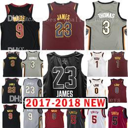 Wholesale Love Jerseys - 2018 New 23 LeBronJames 0 Kevin Love Jersey The City All Star 5 JR Smith 3 Isiah Thomas 1 Derrick Rose Basketball Jerseys