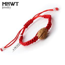 rote armbänder frauen Rabatt MNWT Glückliches Rotes Seil Armband für männer frauen Rote Schnur Geflochtene Seil Armbänder für Frauen Schmuck Geschenke