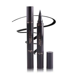 Miss Rose Timbre Eyeliner Seal Crayon Professionnel Eye Maquillage Outil Double Têtes Deux Têtes Eyeliner Pen 60 pcs DHL livraison gratuite ? partir de fabricateur