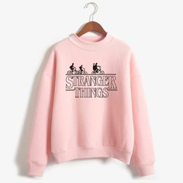 Wholesale fashion television - Frdun Tommy American Television Stranger Things Sweatshirt Stranger Things Hoodie Sweatshirt Women Fashion Casual Clothes
