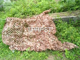 2019 rete camouflage camo La rete di campeggio del cammuffamento di caccia di varia dimensione che cattura la rete del camo del deserto del reticolato per fotografia libera il trasporto rete camouflage camo economici