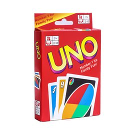 Wholesale toys basketball board - 150Set Funny Entertainment Card Games UNO cards Toys Fun Poker Playing Cards Family Spain Funny Board Game Explanation Interesting Christmas