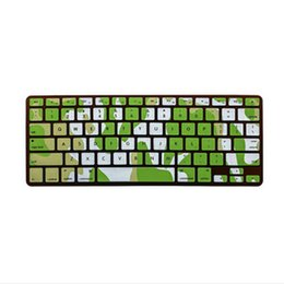"""Wholesale keyboard skin macbook pro 13 - Camouflage US Keyboard Cover Silicone Skin Guard Protector For MacBook Pro 13"""" 15"""" 17"""" Retina for iMac & MacBook Air 13"""""""
