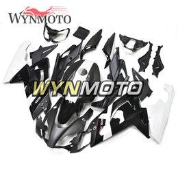 Corpo de motocicleta Kit preto branco ABS injeção carroçaria para 2006 - 2011 Aprilia RS125 Carenagem completa corpo Kit Kit Cowling de