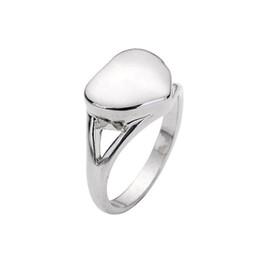 2019 anillos de recuerdo Cristal Inlay Cenizas Keepsake Memorial Locket colgante Aleación Cremation Urn Locket Colgante Anillos Diseño Unisex anillos de recuerdo baratos