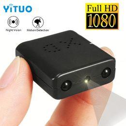 Caméra fendue infrarouge en Ligne-Mini-caméra IR-CUT 1080P Full HD Camcorder Vision nocturne infrarouge Caméra de détection de mouvement Micro Cam DV Sténopé