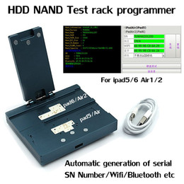 Wholesale Numbers Test - Newest HDD NAND Test rack programmer for ipad 5 6 Air 1 2 Automatic Generation of Serial Number Wifi Bluetooth etc