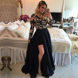 f15985773ae4 Il vestito elegante dal manicotto del merletto lungo applqiues del vestito  da promenade del merletto poco costoso elegante vestidos de festa longo  Trasporto ...