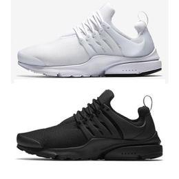 Wholesale classic essentials - Classic Presto ESSENTIAL Men Women Sneaker Tripel Black White red Running Shoes mens womens sports shoes athletic Jogging shoes size 5-11