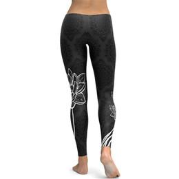 855d01833c lotus leggings Canada - Women Home Wear Yoga Pants Outdoor Bodybuilding  Tight Trousers Sport Polyester Fiber
