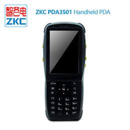 rfid reader handheld Promotion Lecteur rfid android 13.56mhz avec écran tactile, lecteur PDA nfc portatif avec scanner de code à barres de caméra