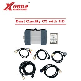 Wholesale das c3 - Best Quality for MB Star C3 Full Set Auto Diagnostic Tool for Cars and Trucks Multiplexer with Xentry DAS WIS EPC HDD Software