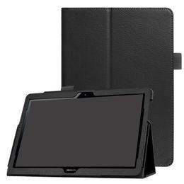Casque flip folio en Ligne-Housse en cuir PU Flip Cover pour Huawei MediaPad T3 10 AGS-L03