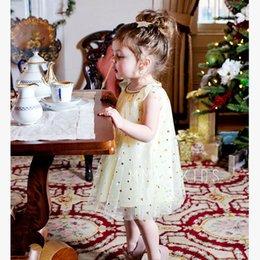 Fiesta de hadas para niña Vestidos Niños Verano Brillante Star tirantes falda SIN vestido de fiesta sin mangas 5 tamaño elegir desde fabricantes