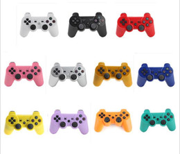 Wholesale Ps Station - 100pcs  Wireless Bluetooth Gamepad For Sony PS3 Controller Playstation 3 Double-shock game Joystick play station 3 console PS 3