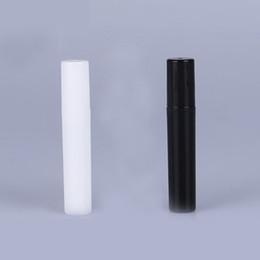 2 ml 3 ml 4 ml 5 ml 5cc PP Mini paquete de prueba portátil botella de perfume de plástico Wth aerosol y vacío tubo de ensayo de perfume negro blanco desde fabricantes