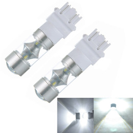 Wholesale High Power Car Led Lamp - High Quality car 2pcs! 3157 3156 4114 High Power 60W LED Backup Reverse Lamp Auto Car LED Light Bulb