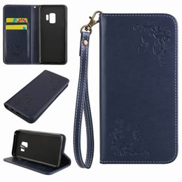 Wholesale High Fashion Iphone Cases - Leather Wallet Case for Samsung Galaxy S9 S8 Plus, iPhone X 8 7 Plus High Quality Fashion Flip Cover
