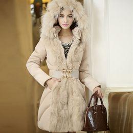 2019 damen lederjacke lila Büro dame mit kapuze patchwork kunstpelz mäntel schlanke frauen elegante luxus warme jacke mäntel 2018 wintermode weibliche outwear