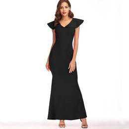 b946e146da7 hot girls slim dress Australia - Women Sexy Dress 2018 Summer Mermaid Hot  V-Neck