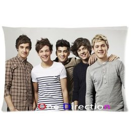 Wholesale One Direction Bands - Zippered Pillow Protector Pillowcase,Queen Size 20x30 inches, One Direction Band Pillow Cover