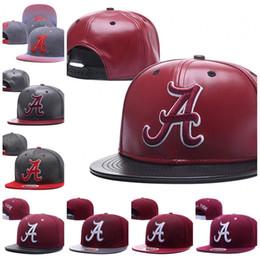 Alabama Crimson Tide Snapbacks NCAA Koleji Futbol şapka Erkekler Ayarlanabilir Şapka yeni Kürk kap amerikan futbol Kırmızı nereden