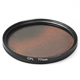 Objectif filtre CPL 77mm pour appareil photo reflex numérique Canon Nikon ? partir de fabricateur