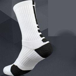 athletische besatzung socken großhandel Rabatt Outdoor-Elite-Sport-Socken gepolstert Verdickung Handtuch Profi-Männer Basketball Athletic Crew Sock Großhandel - Bestseller aus reiner Baumwolle Männer