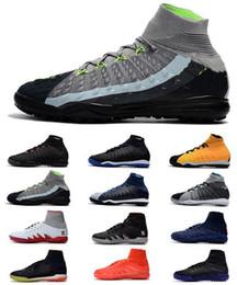 Cheapest ACC Hypervenom X Proximo II DF TF IC Hombres Neymar Zapatos de fútbol High Tokle MD Cup Superfly Hombres Zapatos de fútbol EA Sports Soccer Cleats desde fabricantes