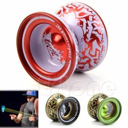 Wholesale Patterns Toys - 2017 Preety Aluminum Alloy Kids Yoyo Ball Bearing String Children Professional Playing Toy May12 _35