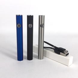 2019 vaporizzatore di olio di hash Preriscaldamento batteria 510 380mAh penna a tensione regolabile per vaporizzatore con cavo di ricarica per olio di hash spessa 92A3 G2 cartucce di vetro Liberty vaporizzatore di olio di hash economici