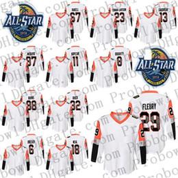 Camisetas de hockey femenino online-2018 All Star Pacific Division Femenino Kids Jonathan Quick Brent Burns Brock Boeser James Neal Marc-Andre Fleury Rickard Rakell Hockey Jersey