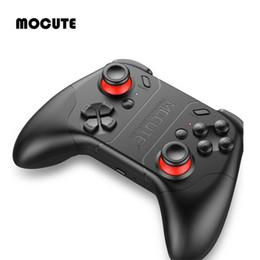 joystick pour ordinateur portable Promotion MOCUTE Noir 053 Manette de jeu sans fil Bluetooth V3.0 Manette de jeu pour iOS Android Téléphone Ordinateur Portable pour VR 3D Lunettes Nouveau