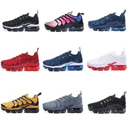 Wholesale shock absorption - Running shoes 2018 Plus GPX TN1 Tuned Fashion Classic Style Shock absorption TN Metallic Gold Cheap New Designer shoes Men Shoes EUR 40-46