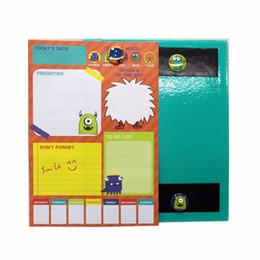 Школьные магниты онлайн-Интересный ноутбук 4 Магнит чистые милые заметки бумага шариковая школьные принадлежности WH17