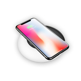 2019 lâmpada qi DeFong Moda QI Inteligente Carregador Sem Fio LED Desk Lamp USB Luz Branca Dobrável Luz Noturna 3-nível de Carregamento De Energia para o iPhone X desconto lâmpada qi