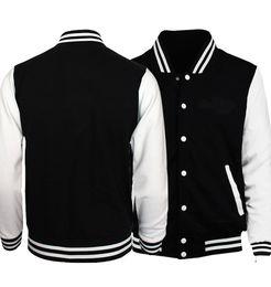 2018 Printemps Nouvelle Arrivée Hommes Baseball Uniforme Vestes Simple Style Couleur Unie Hommes Veste Manteau Survêtement Sprotwear S-5XL ? partir de fabricateur