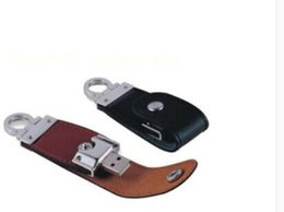 Wholesale Hard Disk Drive Wholesaler - Popular 32GB 64GB 128GB U disk Key Buckle Shape 2.0 USB Flash Drive Pen Drive USB Stick External Hard Drive High Quality